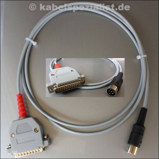 XM1541 Datentransferkabel C64 bzw. Floppy an PC
